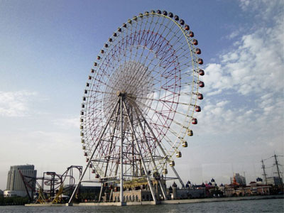 120m ferris wheel ride for sale 01