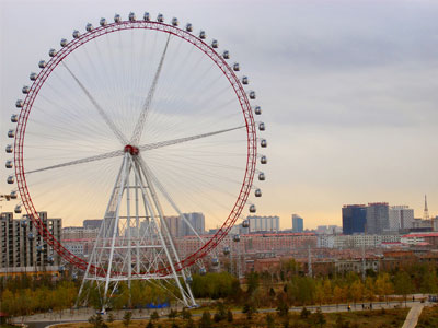 120m ferris wheel ride for sale 02