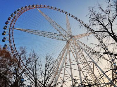 120m ferris wheel ride for sale