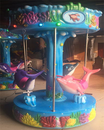 3 seats ocean carousel ride for sale