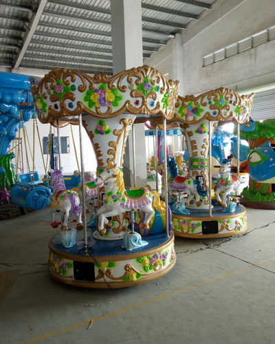 4 seat carousel ride for sale