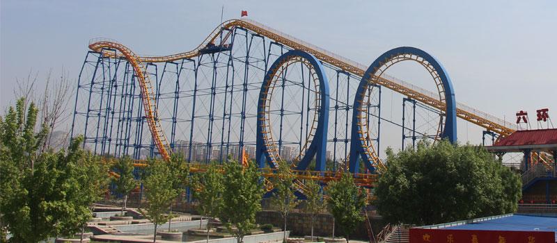 6 loop roller coaster ride manufacturer