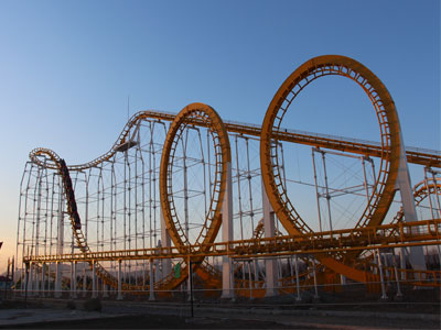 6 loop roller coaster ride supplier