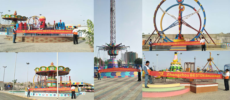 Beston Amusement Park Project In Pakistan