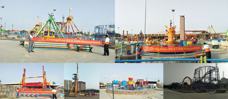 Beston Amusement Park Ride Project In Pakistan