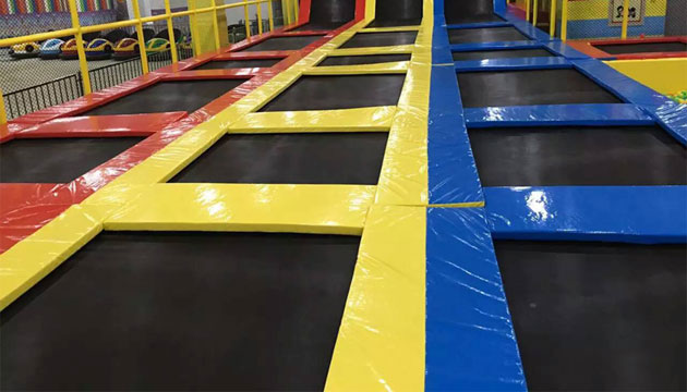 Beston indoor park trampoline