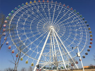 88 meter ferris wheel ride for sale