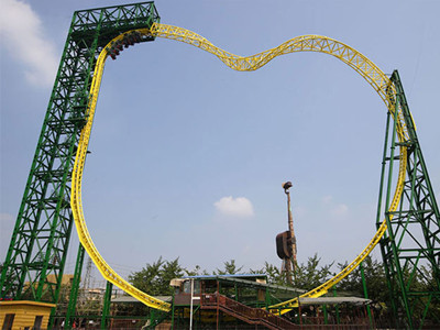 Magic ring roller coaster supplier