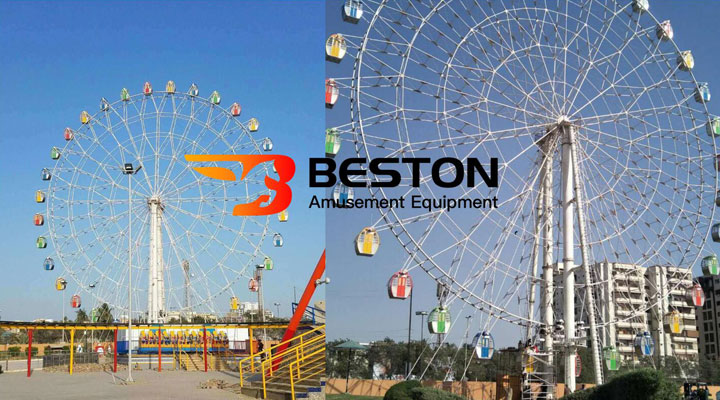 Beston 49 meter ferris wheel ride in Pakistan