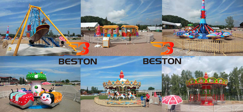 Beston Amusement Park Project In RussiaBeston Amusement Park Project In Russia