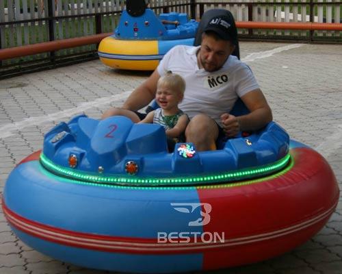 Beston Inflatable Bumper Car In Russia