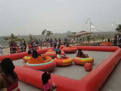 Kid inflatable bumper car in Nigeria