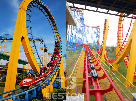 three loop roller coaster price