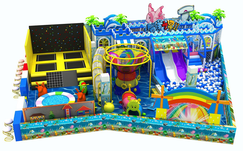 Beston Soft playground equipment designer