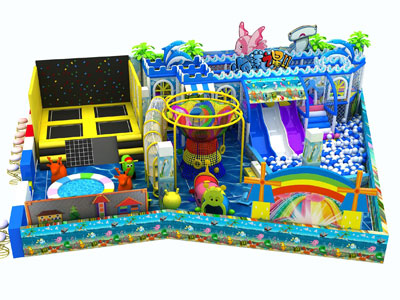 kids Soft indoor playground equipment for sale 02