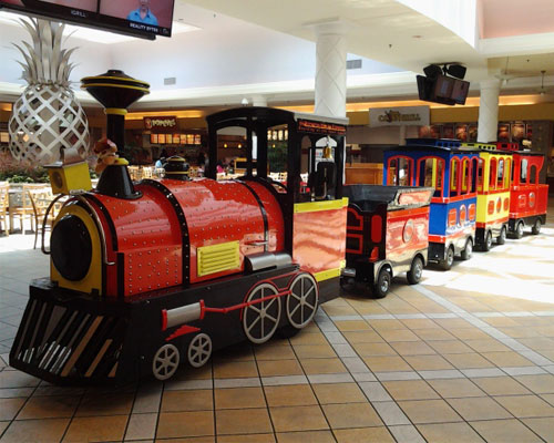 shopping mall trackless train for sale 01