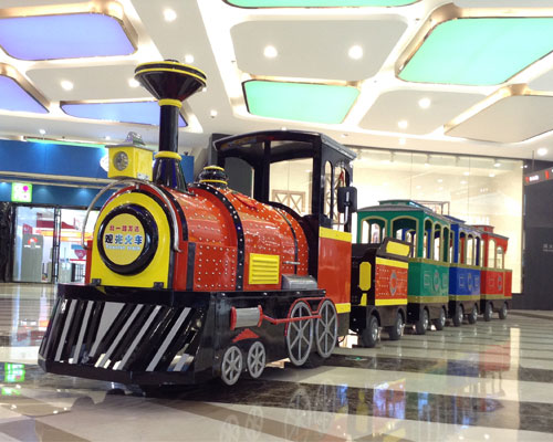 shopping mall trackless train for sale 02