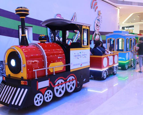 shopping mall trackless train for sale 03