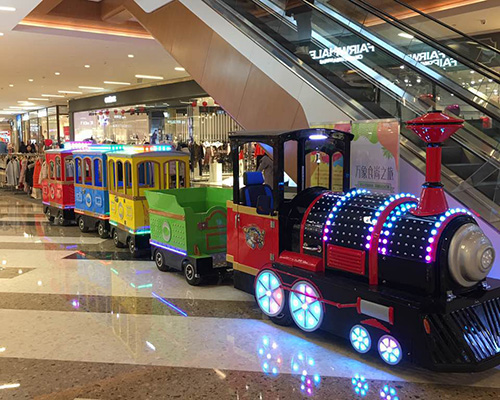 shopping mall trackless train for sale