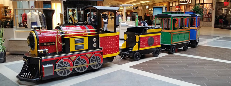 shopping mall trackless train manufacturer