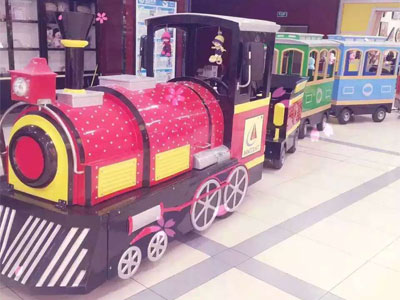 shopping mall trackless train supplier