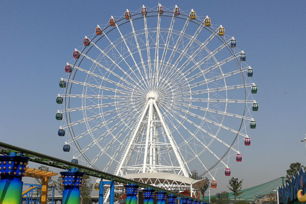 Beston 65 m Ferris wheel ride manufacturers