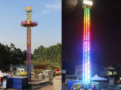 drop tower ride manufacturer