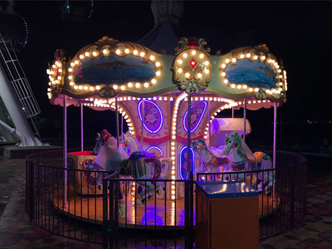 14 seats carousel ride for sale