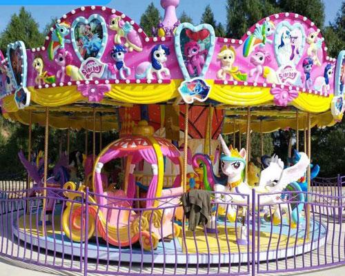 16 seats merry go round ride 01