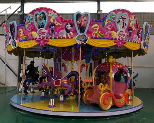 16 seats merry go round ride 02