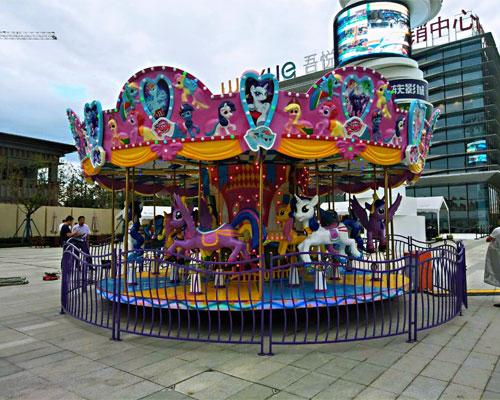 16 seats merry go round ride 03