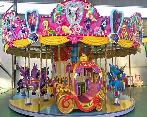 16 seats merry go round ride