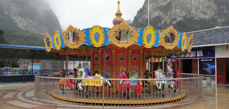 24 seats Beston amusement carousel rides for sale