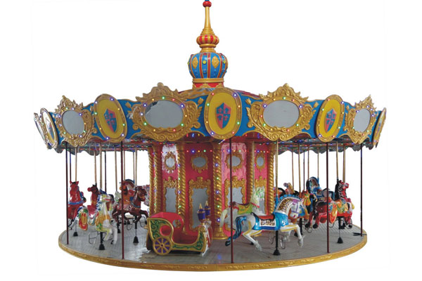 24 seats carousel ride manufacturer 01