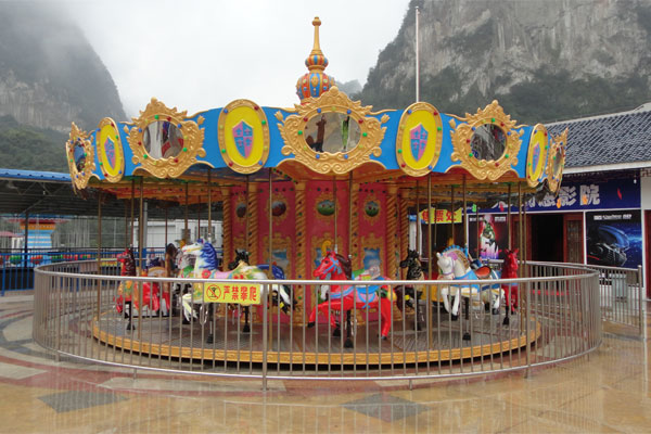 24 seats carousel ride manufacturer 03