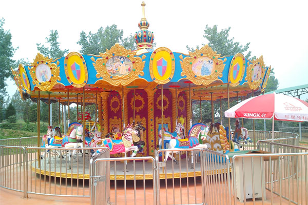 24 seats carousel ride manufacturer 04