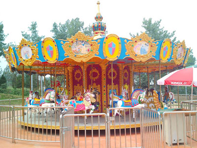24 seats carousel ride manufacturer