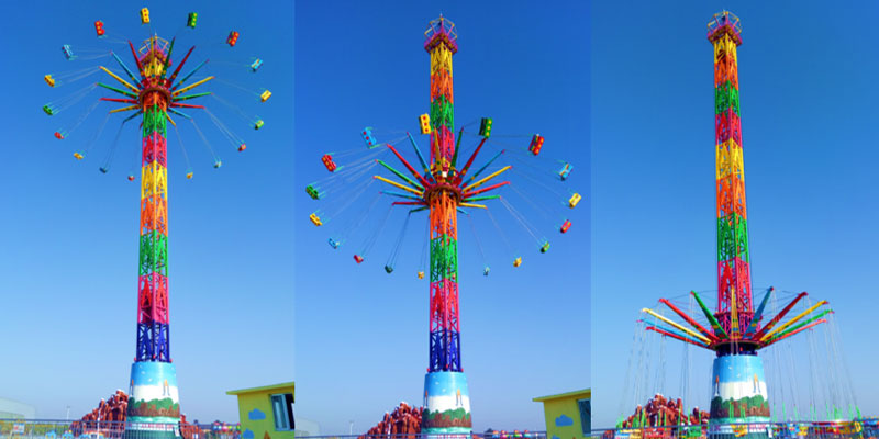 Beston Thrill Swing Tower Rides For Sale