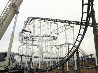 3 loop roller coaster for sale in Irap 01
