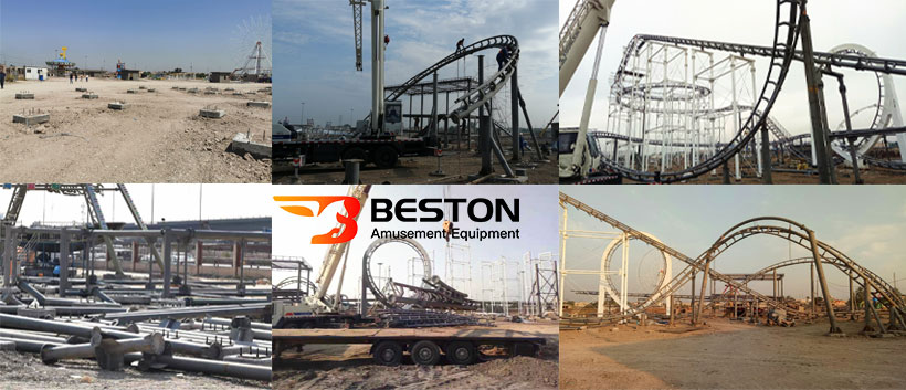 3 loop roller coaster for sale in Irap