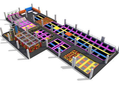 indoor trampoline park equimpent 04