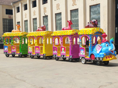 elephant trackless train rides supplier and manufacturer