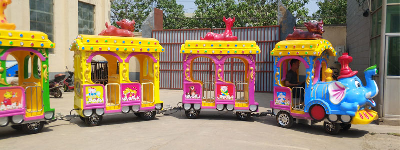 elephant trackless train rides supplier and manufacturers