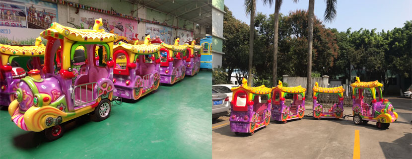 beston amusement train rides