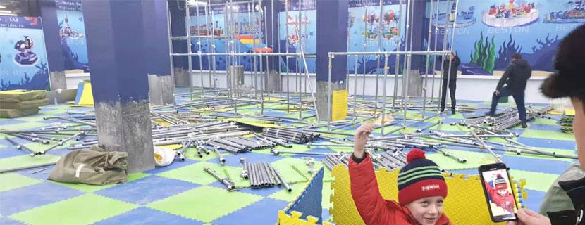 kids indoor playground equipments for sale