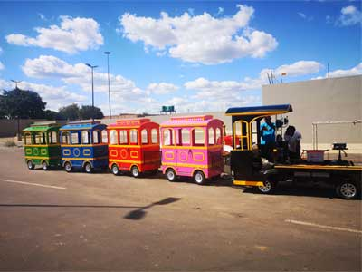 Beston mall trackless train In South Africa