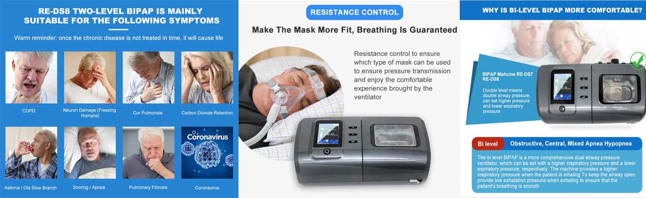 bipap machine manufacturers