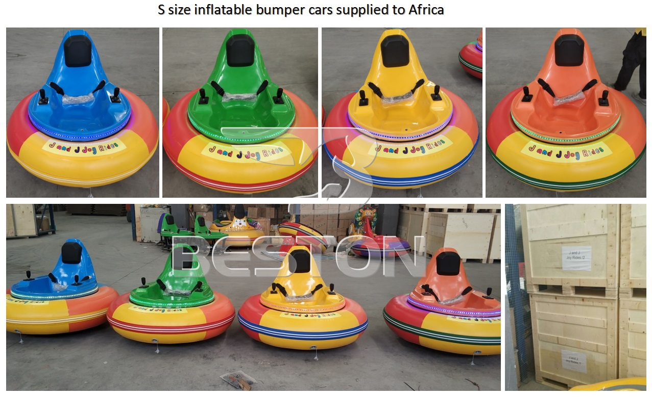 Beston inflatable bumper cars rides for sale