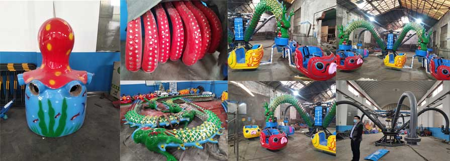 Beston rotary octopus rides manufacturers