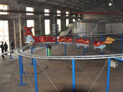 dragon roller coaster rides suppliers